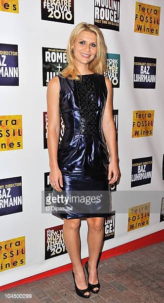Claire Danes attends the opening night gala for the New York Musical Theatre Festival at Hudson Terrace on September 27 2010 in New York City