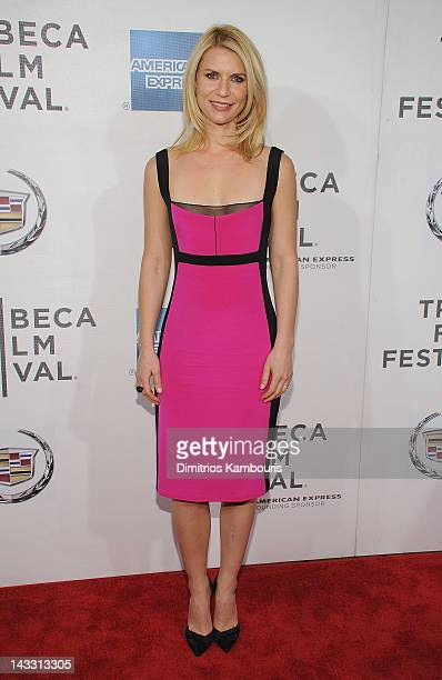 Claire Danes attends the premiere of 'Hysteria' during the 2012 Tribeca Film Festival at BMCC Tribeca PAC on April 23 2012 in New York City