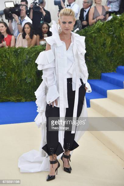 Claire Danes attends the 'Rei Kawakubo/Comme des Garcons Art Of The InBetween' Costume Institute Gala at Metropolitan Museum of Art on May 1 2017 in...