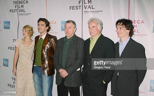 Claire Danes, Ben Chaplin, Robert De Niro, Richard Eyre and Billy Crudup