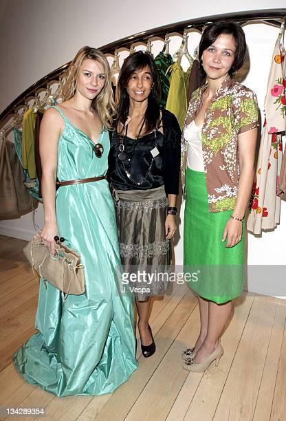 Claire Danes, Consuelo Castiglioni and Maggie Gyllenhaal