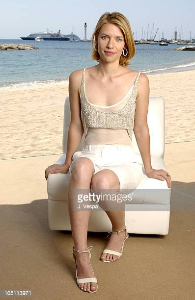 Claire Danes during 2003 Cannes Film Festival Claire Danes Portraits at American Pavillion in Cannes France
