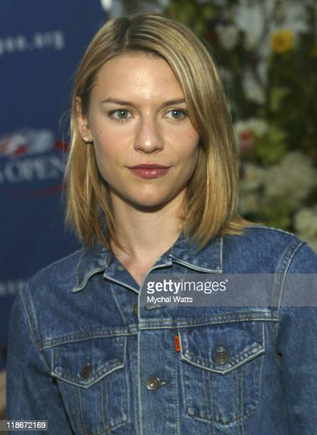 Claire Danes during 2003 US Open US Open Finals VIP Party Day 1 at USTA National Tennis Center in Queens New York United States