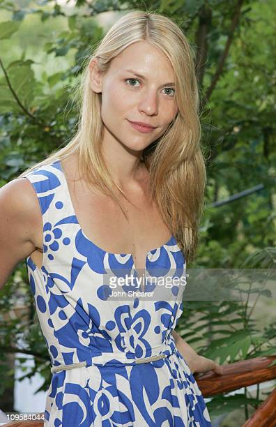 Claire Danes during 2005 Giffoni International Children's Film Festival Claire Danes meets with Claudio Gubitosi at Private Villa in Giffoni Italy