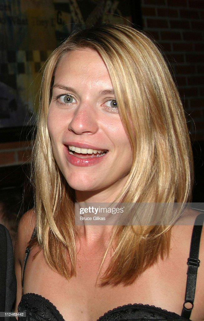 Claire Danes during 'After The Fall' Broadway Opening Night - After Party at B.B. Kings in New York City, New York, United States.