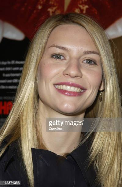 Claire Danes during 'Inside Deep Throat' New York City Premiere at Paris Theater in New York City New York United States