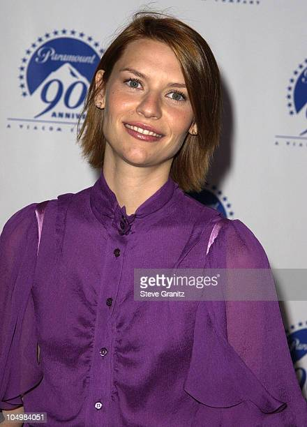 Claire Danes during Paramount Pictures Celebrates 90th Anniversary With 90 Stars for 90 Years at Paramount Pictures in Los Angeles California United...