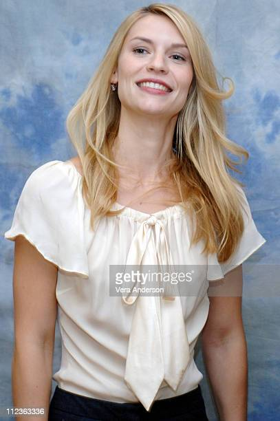 """Claire Danes during """"Shopgirl"""" Press Conference with Claire Danes, Jason Schwartzman and Steve Martin at Four Seasons Hotel in Los Angeles,..."""
