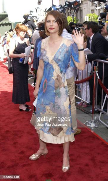 Claire Danes during Star Wars Episode II Attack of the Clones Charity Premiere Los Angeles at Grauman's Chinese Theater in Hollywood California...