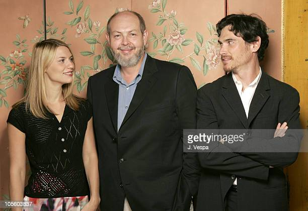 Claire Danes Jeffrey Hatcher and Billy Crudup during 2004 Toronto International Film Festival Stage Beauty Portraits at Intercontinental in Toronto...