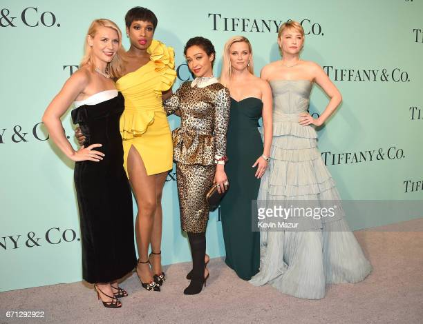 Claire Danes Jennifer Hudson Ruth Negga Reese Witherspoon and Haley Bennett attend Tiffany Co Celebrates The 2017 Blue Book Collection at ST Ann's...