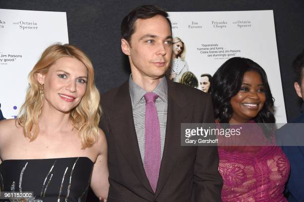 Claire Danes Jim Parsons and Octavia Spencer attend 'A Kid Like Jake' New York premiere at The Landmark at 57 West on May 21 2018 in New York City