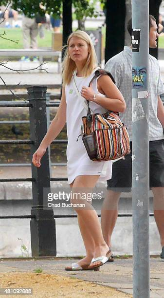 Claire Danes sighted visiting the German History Museum on July 17 2015 in Berlin Germany