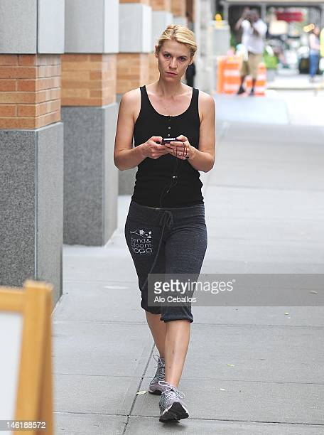 Claire Danes sighting on June 11 2012 in New York City