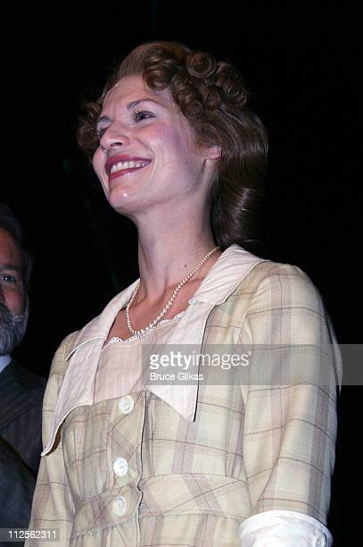 """Claire Danes takes her curtain cal as she makes her Broadway Debut in The Revival of """"Pygmalion"""" on Broadway on Opening Night October 18, 2007 at The..."""