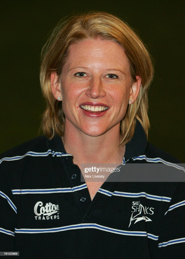 Claire Deane the physio of Sale Sharks during the Sale Sharks Photocall held at the Carrington Training Complex on August 14, 2007 in Carrington, England.