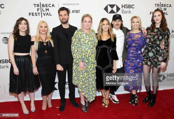 Claire Demere Lady Monika Bacardi Andrea Iervolino Alison Benson Sarah Jessica Parker Fabien Constant Liviya Kraemer and Caroline Moore attend the...