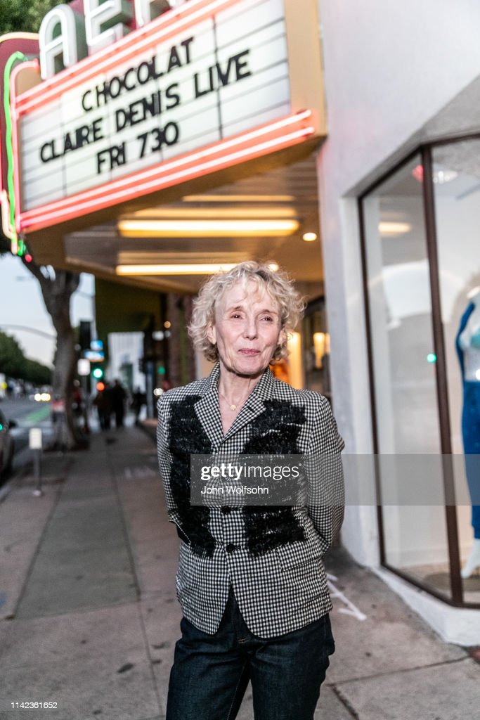 "The American Cinematheque And The French Film & TV Office Present ""Salt, Sweat And Sunshine: The Cinema Of Claire Denis"" : News Photo"