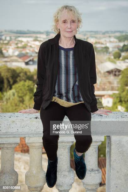 Claire Denis attends the 10th Angouleme FrenchSpeaking Film Festival on August 25 2017 in Angouleme France