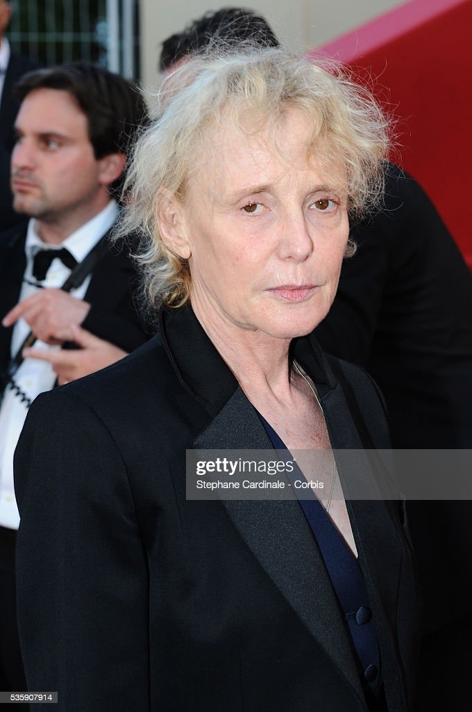 Claire Denis attends the premiere for 'The Exodus - Burnt By The Sun 2' during the 63rd Cannes International Film Festival.