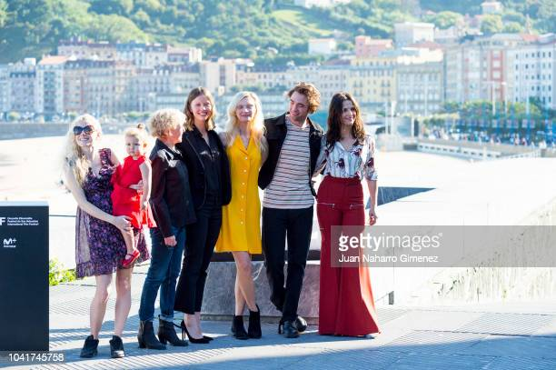 Claire Denis Mia Goth Juliette Binoche Robert Pattison Agata Buzek and Scarlett Lindsey attend the 'High Life' photocall during the 66th San...