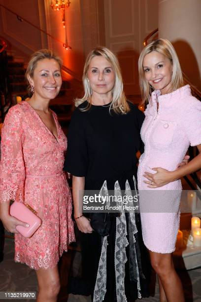 Claire Duroc Danner Sophie Favier and Marie Saldmann attend the Stethos d'Or 2019 Charity Gala of the Foundation for Physiological Research at on...