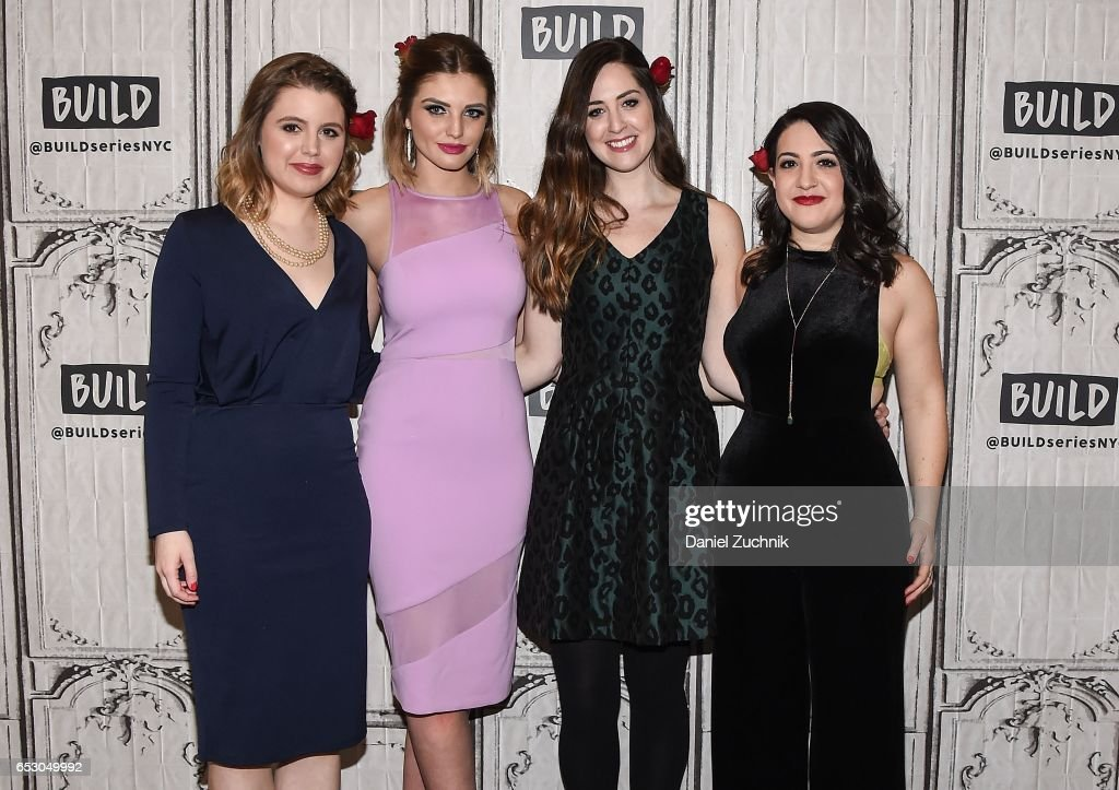 Claire Fallon, Olivia Caridi, Leigh Blickley and Emma Gray attend the Build Series to discuss the season finale of 'The Bachelor' at Build Studio on March 13, 2017 in New York City.