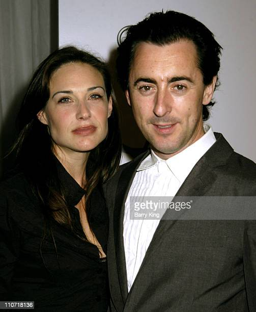 Claire Forlani and Alan Cumming during AFI Fest 2005 Ripley Under Ground Screening at Arclight Cinemas in Hollywood California United States