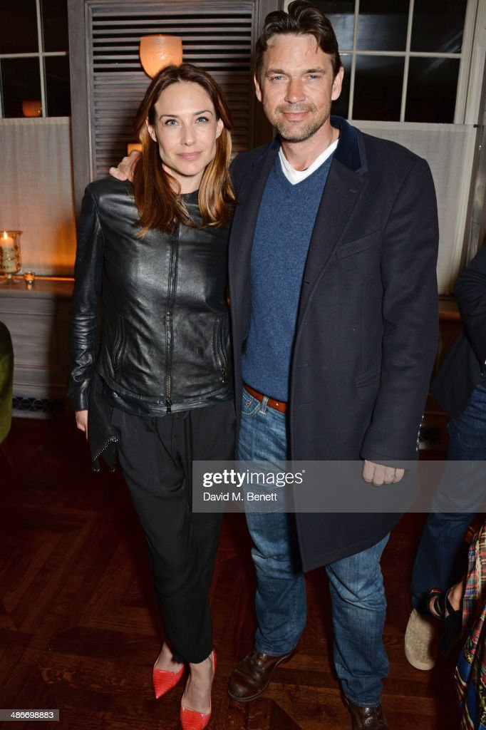 Charles Finch, Mulberry and PORTER Magazine Host An Exclusive Dinner For Julian Schnabel At 34 : News Photo