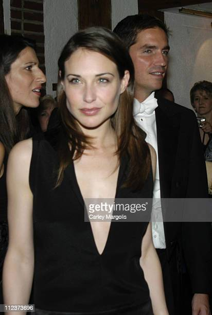 Claire Forlani and James Caviezel during Bobby Jones Stroke of Genius New York Premiere After Party at Tavern on the Green in New York City New York...
