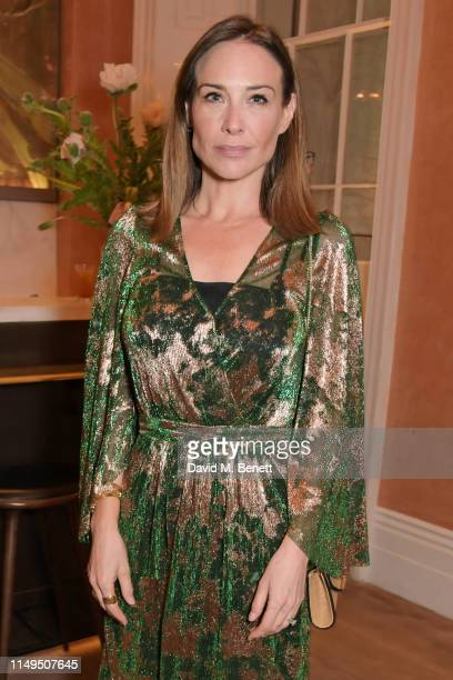 Claire Forlani attends a dinner hosted by Skye Gyngell and the Trustees of Action on Addiction to celebrate Addiction Awareness Week at Spring...