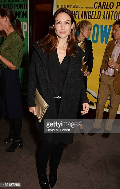 Claire Forlani attends a screening hosted by PORTER in honour of cover girl Christy Turlington Burns and her charity Every Mother Counts at The...