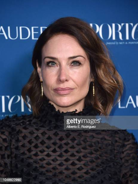 Claire Forlani attends Porter's Incredible Women Gala 2018 at Ebell of Los Angeles on October 9 2018 in Los Angeles California