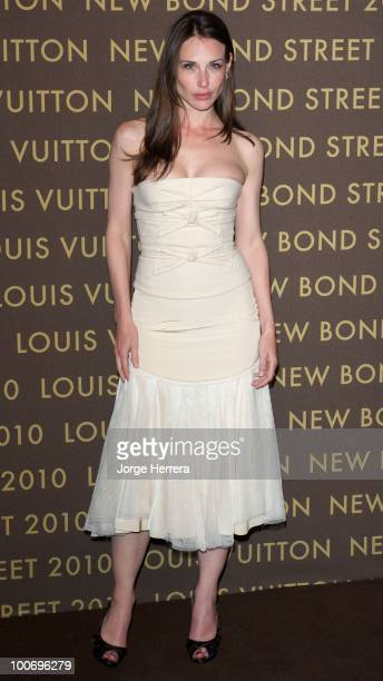 Claire Forlani attends the after party for the launch of the Louis Vuitton Bond Street Maison on May 25 2010 in London England
