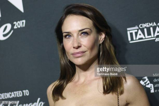 Claire Forlani attends the Cinema Italian Style '17 Opening Night Gala Premiere Of 'A Ciambra' at the Egyptian Theatre on November 16 2017 in...