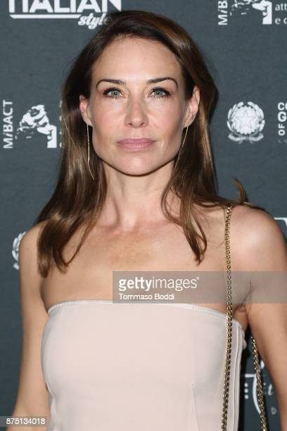 Claire Forlani attends the Cinema Italian Style '17 Opening Night Gala Premiere Of A Ciambra at the Egyptian Theatre on November 16 2017 in Hollywood...