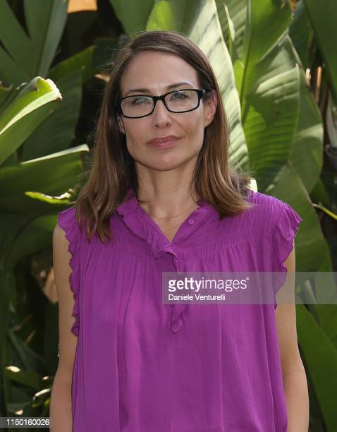 Claire Forlani attends the Filming Italy Sardegna Festival 2019 Day 3 Photocall at Forte Village Resort on June 15 2019 in Cagliari Italy