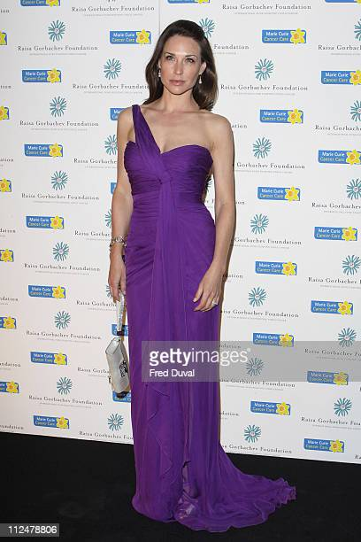 Claire Forlani attends the fourth annual fundraising gala dinner for the Raisa Gorbachev Foundation at Hampton Court Palace on June 6 2009 in London...