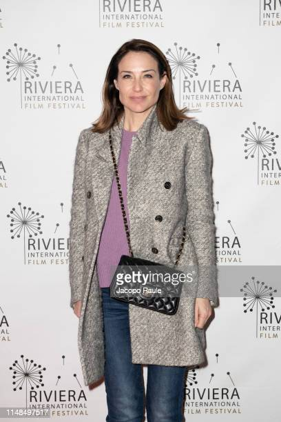 Claire Forlani attends the Riviera Film Festival on May 07 2019 in Sestri Levante Italy