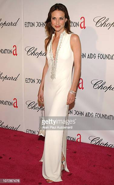 Claire Forlani during 13th Annual Elton John AIDS Foundation Oscar Party Cohosted by Chopard Arrivals at Pacific Design Center in Los Angeles...