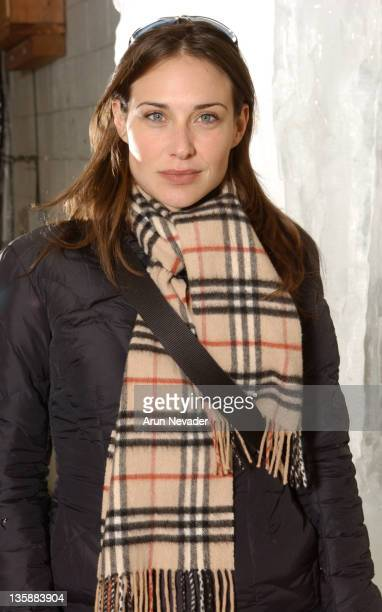 Claire Forlani during 2004 Sundance Film Festival Claire Forlani Portraits at Off Heber Street in Park City UT United States