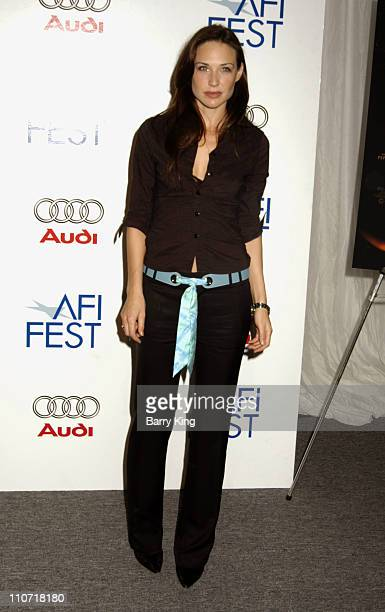 Claire Forlani during AFI Fest 2005 Ripley Under Ground Screening at Arclight Cinemas in Hollywood California United States