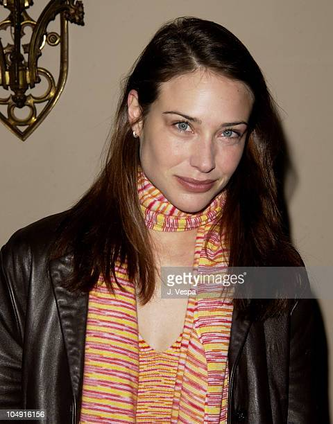 Claire Forlani during Angela Missoni hosts Private Champagne Brunch and Preview of Special Evening Collection for Academy Awards Week at Chateau...