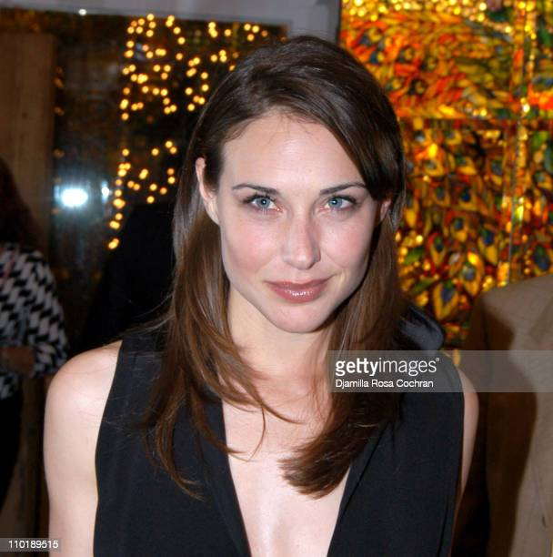 Claire Forlani during Bobby Jones Stroke of Genius After Party Premiere at Tavern On The Green in New York City New York United States