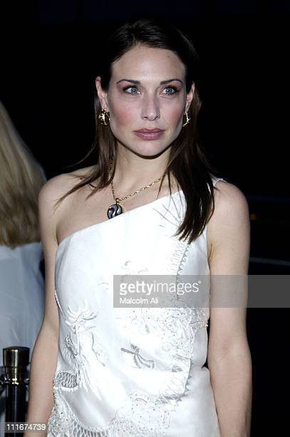 Claire Forlani during Bobby Jones Stroke of Genius Los Angeles Premiere at Academy of Motion Picture Arts and Sciences in Beverly Hills California...