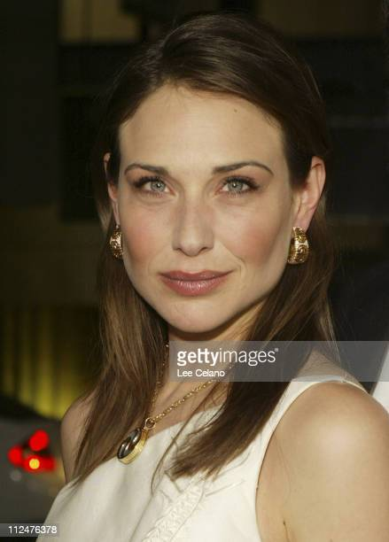 Claire Forlani during Bobby Jones Stroke of Genius Los Angeles Premiere Red Carpet at Samuel Goldwyn Theater in Beverly Hills California United States
