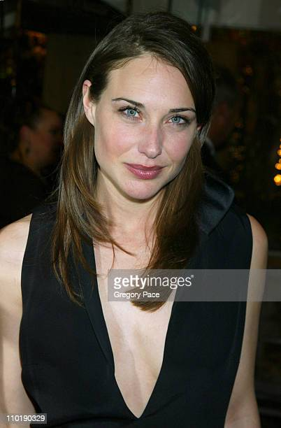 Claire Forlani during Bobby Jones Stroke of Genius New York Premiere After Party at Tavern on the Green in New York City New York United States