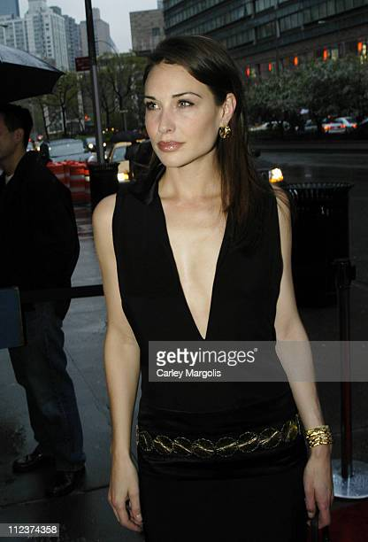 Claire Forlani during Bobby Jones Stroke of Genius New York Premiere Arrivals at Tavern on the Green in New York City New York United States