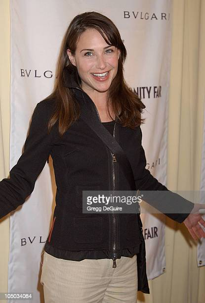 Claire Forlani during Bvlgari Celebrates Valentine's Day at its New Rodeo Drive Store at Bvlgari in Beverly Hills California United States