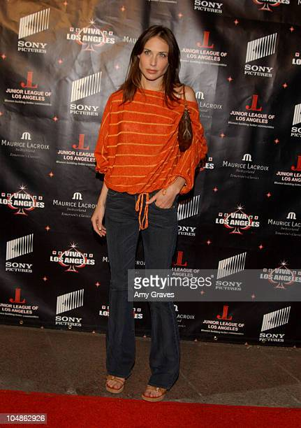 Claire Forlani during Junior League of Los Angeles 2nd Annual Viva Los Angeles Casino Night at Sony Pictures Plaza in Culver City California United...